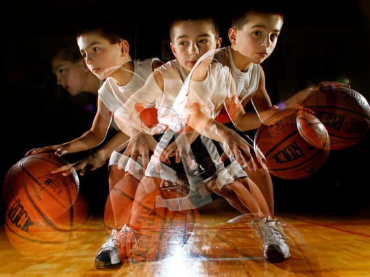 """Jordan McCabe at 10 years old. The Kaukauna standout has been hyped since he was a kid, when he was first a dribbling and jump rope prodigy who performed at halftime of college basketball games and even appeared on """"The Ellen DeGeneres Show."""""""