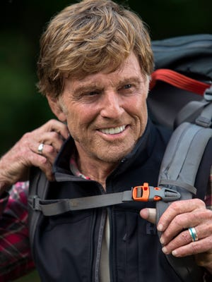 Robert Redford stars as Bill Bryson in 'A Walk In the Woods.'