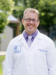 Dr. Richard Falcone, pediatric surgeon and director of trauma at Cincinnati Children's Hospital Medical Center. Falcone operated on China Kinebrew on July 5, 2015, when she was brought into the hospital with bullet wounds to the head and torso.
