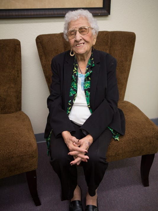 Andrea Rubio celebrates her 106th birthday