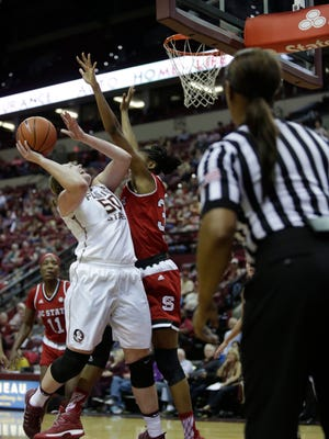 The NC State Wolfpack take down Florida State 70-61 in their Jan 2 face-off at the Donald L. Tucker Civic Center.