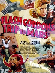 Flash Gordon: A poster from a 1930s movie serial