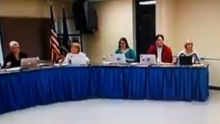 Clawson School Board member Linda Grossmann joked at a Nov. 10, 2014, meeting that the district should shoot students with allergies.