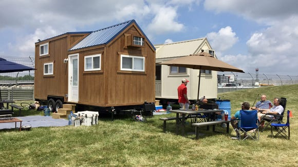 Fabulous tiny luxury houses allow Indy 500 fans to literally move in at track