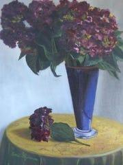 """""""Hydrangeas"""" by Emil Figueroa."""