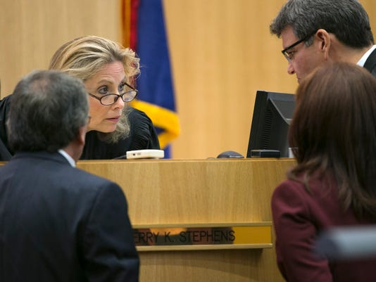 Jodi Arias Judge Sherry Stephens
