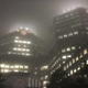 Fog seen Downtown early Tuesday.