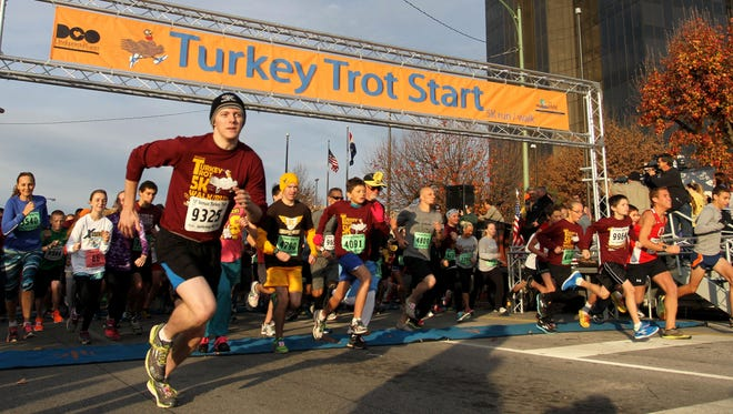 Early bird registration is now open for the 21st Annual Turkey Trot 5K Run/Walk, held on Thanksgiving Day in downtown Springfield.