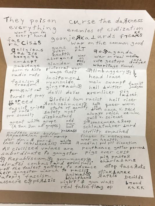 Letter sent to school district