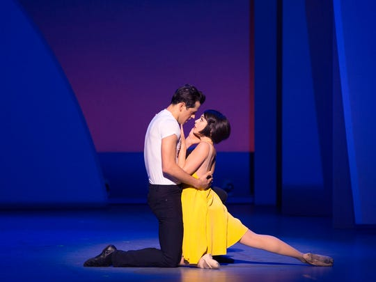 "Robert Fairchild and Leanne Cope make their Broadway debuts playing the leads in ""An American in Paris."""
