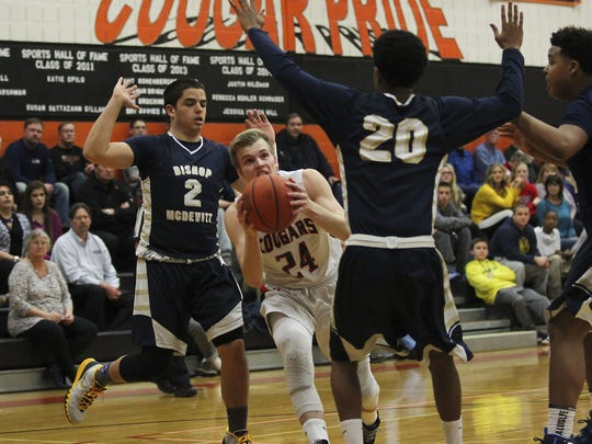 Palmyra senior Austin Yetter hopes to see his final high school season end with a long stay at nearby Giant Center during the District 3 Class AAA tournament.