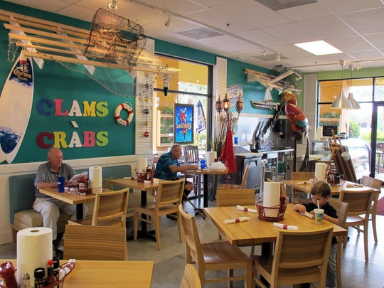 Charlie's Clams, Crabs & Seafood opened this week at 1201 Piper Blvd. in North Naples.