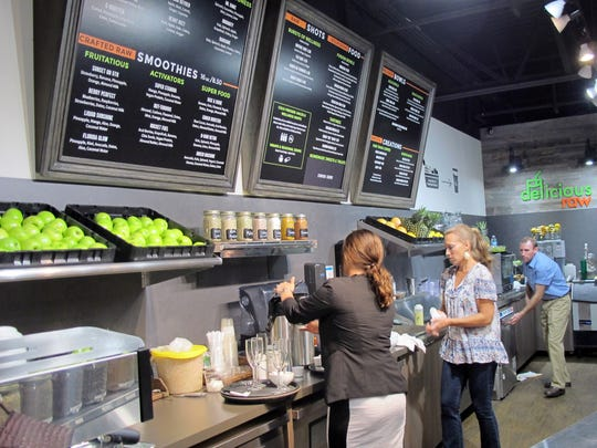 Delicious Raw has three locations in Naples.