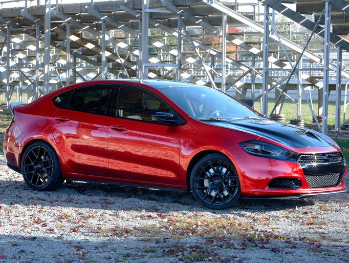 Dodge Dart compact sedan is based on underpinnings from Fiat's Alfa Romeo Giulietta. The chassis was enlarged for the U.S. market and is called CUS-W, for compact U.S. wide.