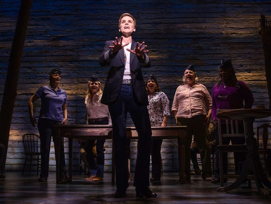 "Jenn Colella in ""Come From Away."""