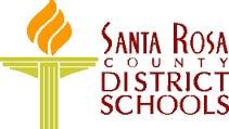 Santa Rosa County School District logo.