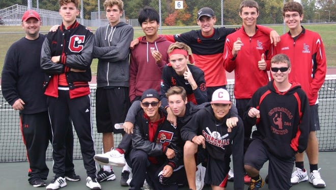 Churchill's tennis team qualified for its fifth Division 1 state meet in the past six years.