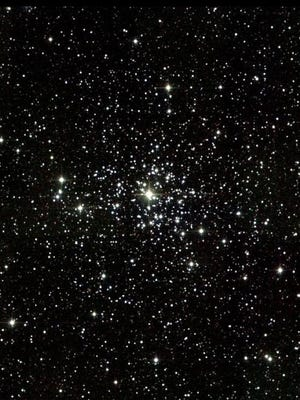 Star cluster M37 is the richest and brightest of several in the constellation Auriga.