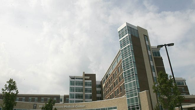 Saint Thomas Rutherford Hospital located on Medical Center Parkway in Murfreesboro.