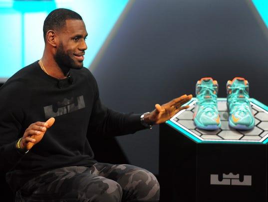 LeBron James Nike