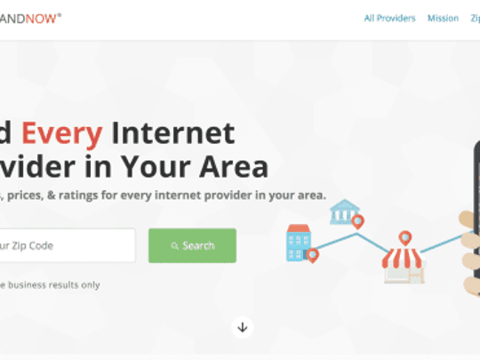Use BroadbandNow.com to compare internet and cable providers in your area.