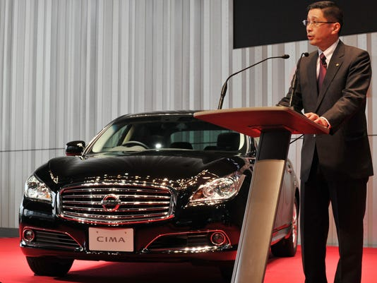 Japan's auto giant Nissan Motor executiv