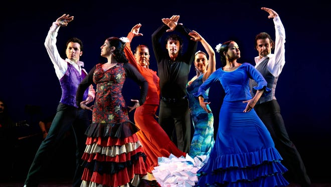 Flamenco Vivo Carlota Santana will perform at the Clemens Center in Elmira on Thursday, Jan. 26.