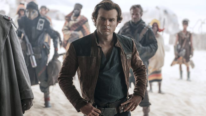 "Alden Ehrenreich, 28, plays the young Han Solo in the second standalone ""Star Wars"" movie, out May 25."