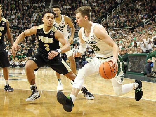 NCAA Basketball: Purdue at Michigan State