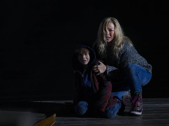 Naomi Watts (right) and Jacob Tremblay in 'Shut In.'