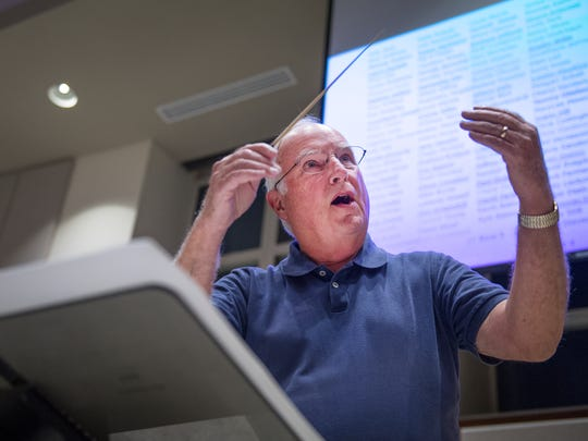 Dr. Bingham L. Vick Jr. directs the Greenville Chorale
