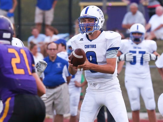 Bishop Chatard's Mark Nondorf is one of the top QBs