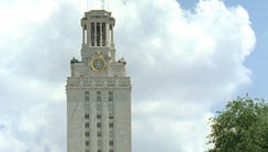 FILE -- The main tower at the University of Texas is