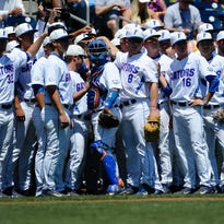 The Florida Gators will open the season No. 1 in the USA TODAY Sports baseball coaches poll.