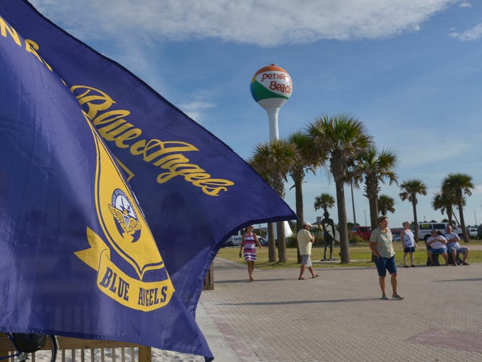 The U.S. Navy Flight Demonstration Squadron the Blue Angels will once again take to the skies over Pensacola Beach this week, with a practice show on Thursday afternoon and fulll shows on Friday and Saturday.