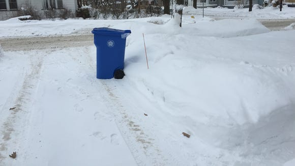 """A new 96-gallon recycling container just dropped off for a resident dubbed by Mayor Lovely Warren as a """"Recylcing Role Model."""""""
