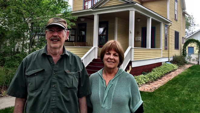 Larry and Linda Daggett purchased a former Anaconda Co. house moved by Neighborhood Housing Services to the 400 block of Sixth Street South in 1983. They credit home improvements encouraged by NHS for resurrecting older neighborhood and spurring home ownership.