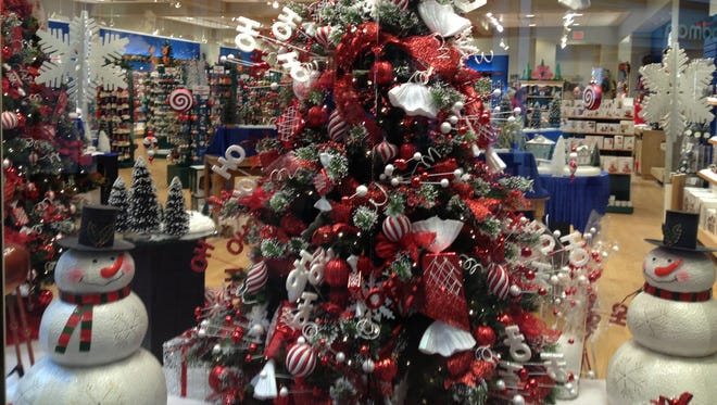 Christmas begins to arrive this month in stores.