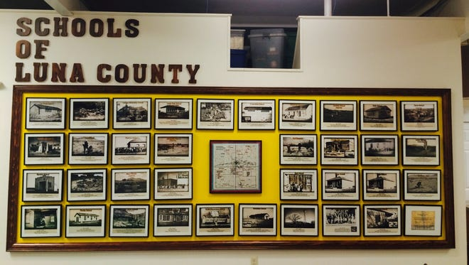 The Schools of Luna County are now on display at the Deming-Luna-Mimbres Museum, 320 S. Silver Avenue.