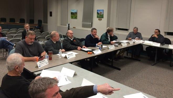 City of Brighton, Brighton Township, Genoa Township, Green Oak Township and Brighton Area Schools leaders met to discuss SELCRA on Nov. 30.