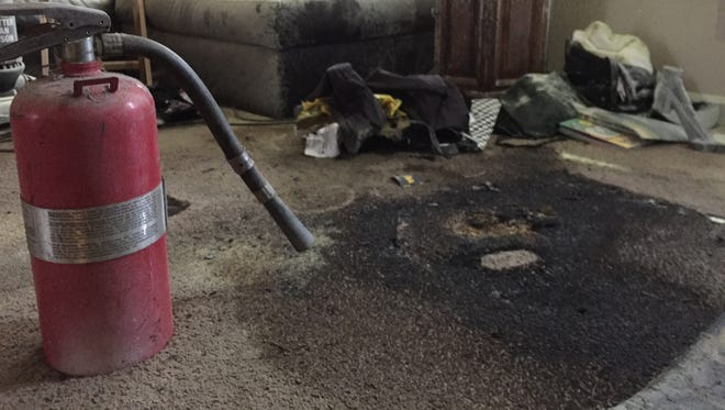 The house where a hoverboard exploded was deemed uninhabitable, the landlord told the Asbury Park Press Tuesday morning.