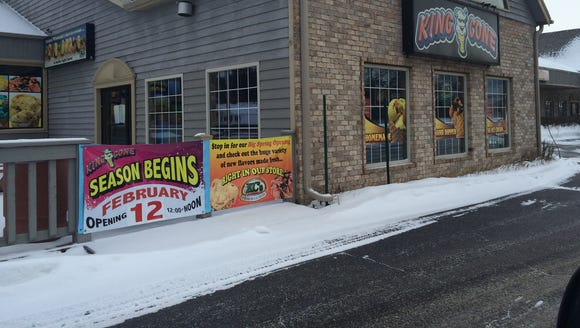 King Cone in Plover will officially open for the season