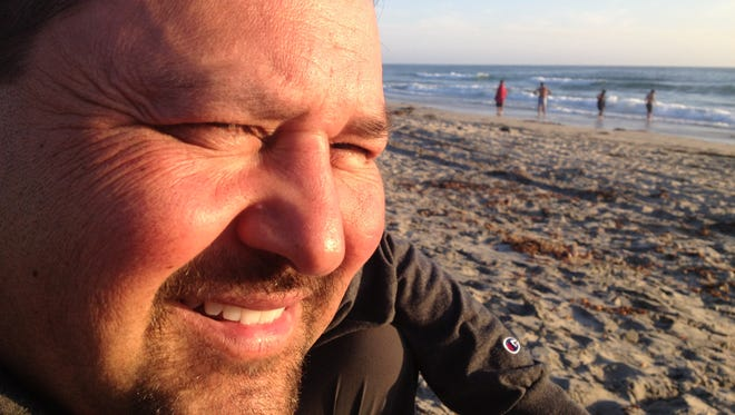 Less than a year after this photo, Tony Miranda was fighting for his life with H1N1 flu.