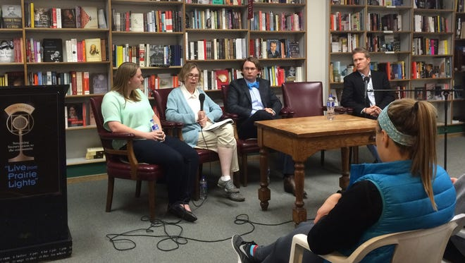 An expert panel on Monday explored the role of free speech and the First Amendment on college and university campuses during an IowaWatch forum at Prairie Lights bookstore on Monday, May 2.