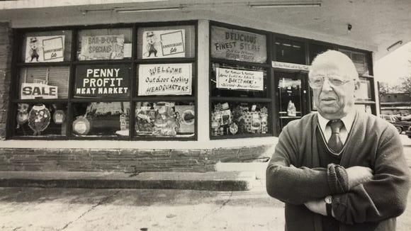 Rubin Hanan opened Penny Profit in the 1930s.