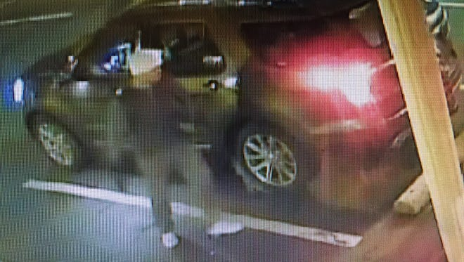 Suspect in Touch of Class burglary