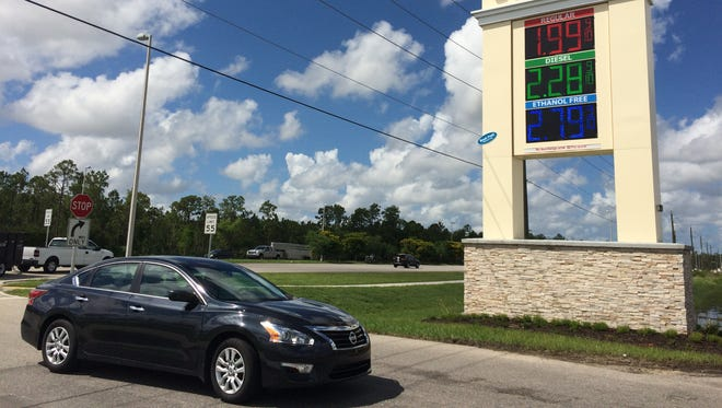 The Wawa on Colonial Boulevard near State Road 82 sold regular unleaded for $1.99 per gallon Tuesday.