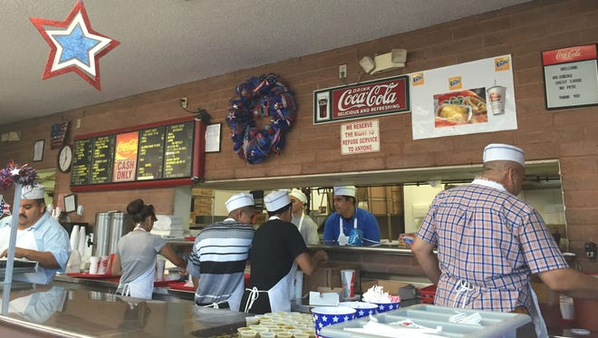 Sunday will be the last chance to order rolled tacos, hot dogs and other foods that are part of an El Paso tradition at the Chico's Tacos on Montana Avenue.  The restaurant is closing to make way for a CVS Pharmacy.