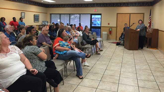 The Ouachita Parish Library celebrated 100 years Thursday at its main branch.