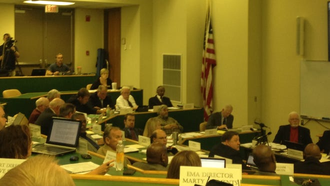 The Madison County Commission met Monday at the West Tennessee Agricultural Research and Education Center.